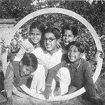 Five of six sons of Bireswar Sen