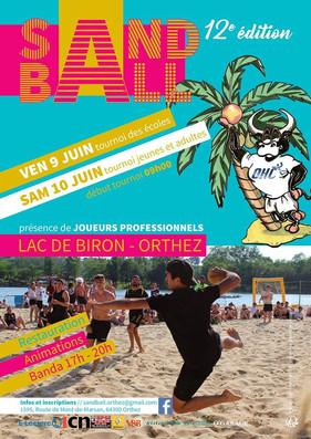 SOIRÉE SANDBALL D'ORTHEZ 09/06/2017
