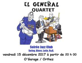 Soirée Jazz Club 15 décembre 2017