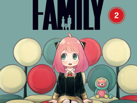 Spy X Family Vol 2 Book Review