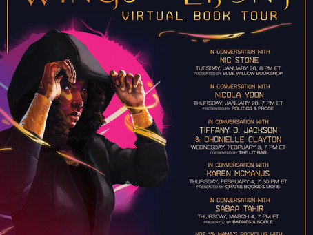 Wings of Ebony Book Tour