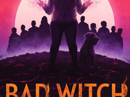 Bad Witch Burning Cover Reveal