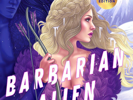 Barbarian Alien Cover Reveal