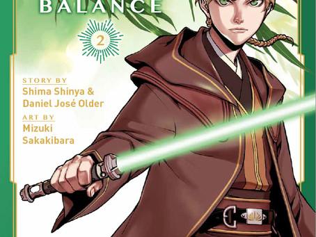 Manga Monday: Star Wars: The High Republic The Edge of Balance Vol 2 Cover Reveal