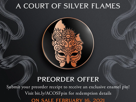 A Court of Silver Flames Pre-Order Campaign