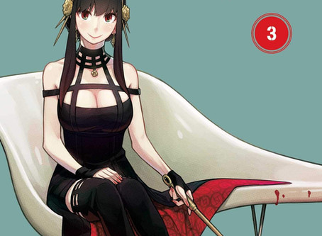 Spy X Family Vol 3, 4, and 5 Cover Reveals