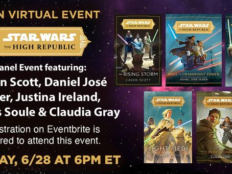Star Wars: The High Republic Virtual Event