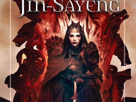 The Dragon of Jin-Sayeng Cover Reveal