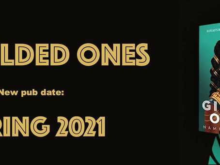 The Gilded Ones Book New Launch Date