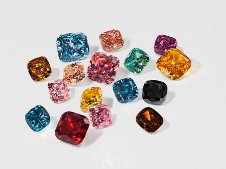 Swarovski Debuts 16 Colors of Created Diamonds