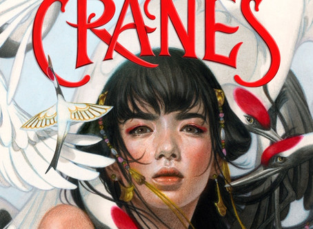Six Crimson Cranes Cover Reveal