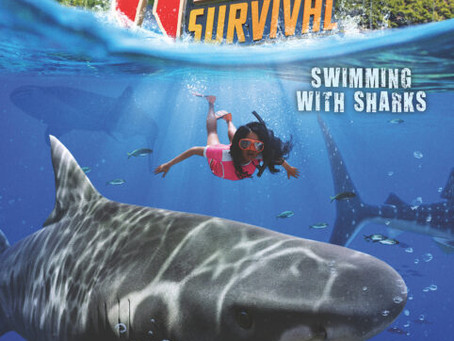 Wild Survival Swimming With Sharks Cover Reveal