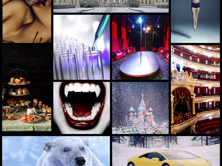 Blog Tour: Vampires of Moscow by Caedis Knight | Mood Board