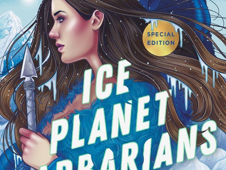 Ice Planet Barbarians Cover Reveal