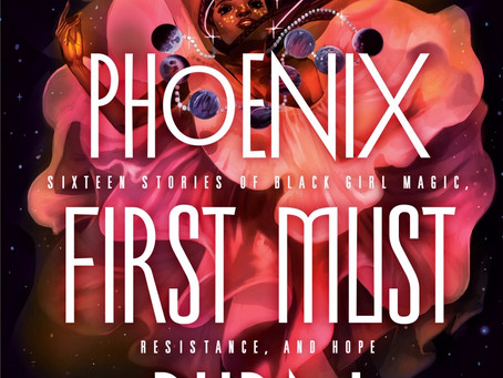 A Phoenix Must First Burn Cover Reveal