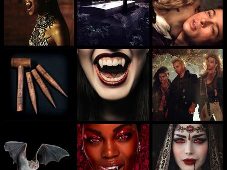 HOVBT Blog Tour: Vampires Never Get Old by Zoraida Cordova | Mood Board