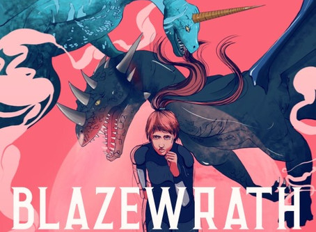 HOVBT Blog Tour: Blazewrath Games by Amparo Ortiz | Review