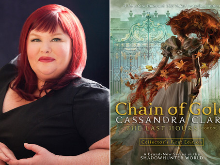 Chain of Gold Book Tour