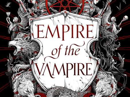 Empire of the Vampire UK Cover Reveal