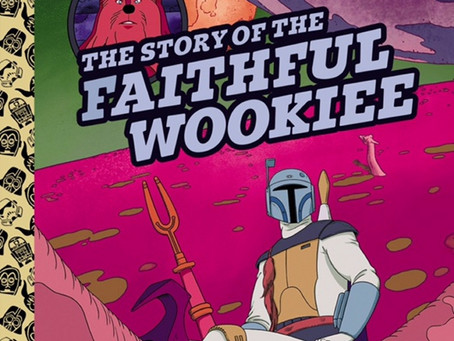 The Story Of The Faithful Wookie Cover Reveal
