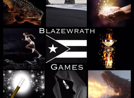 HOVBT Blog Tour: Blazewrath Games by Amparo Ortiz | Mood Board