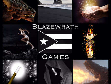 HOVBT Blog Tour: Blazewrath Games by Amparo Ortiz | Mood Board