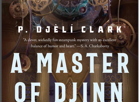 A Master of Djinn Cover Reveal