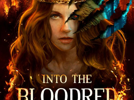 Into The Bloodred Woods Cover Reveal