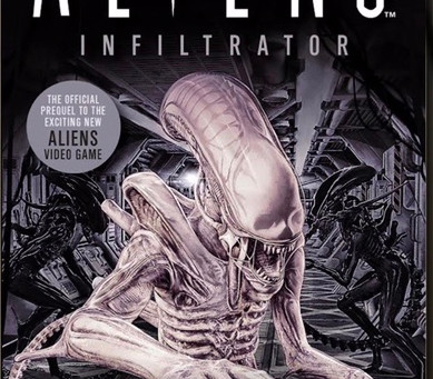 Aliens Infiltrator Cover Reveal