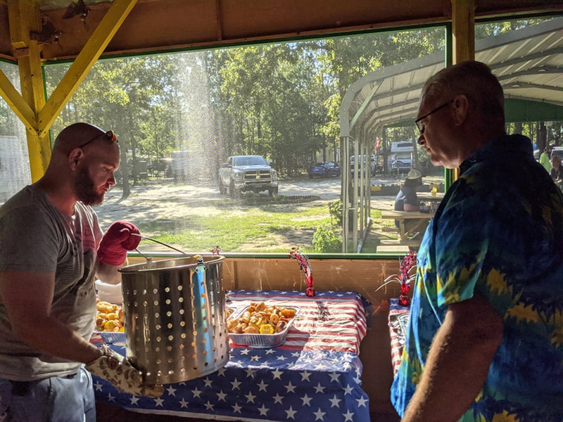 June Low Country Boil