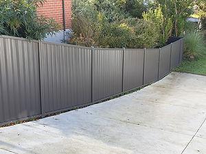 Dunedin Fencing Colour Steel Fences