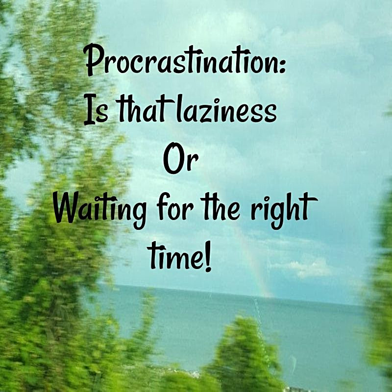 How to Procrastinate and It is GOOD!