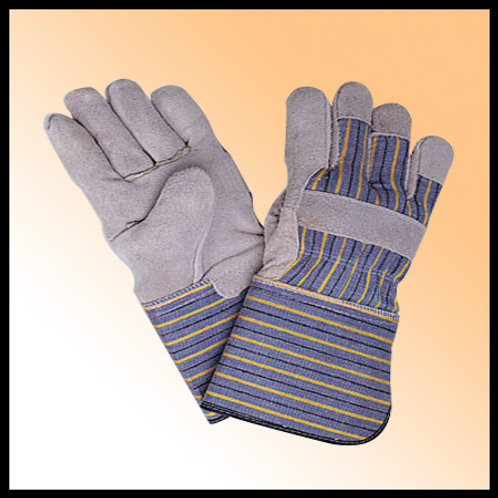 WORKING GLOVES WITH MULTI COLOR CUFF