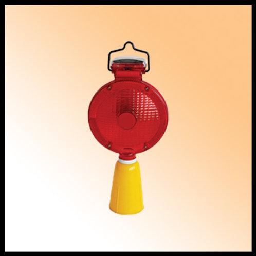 TRAFFIC LIGHT SOLAR (CONE) RED