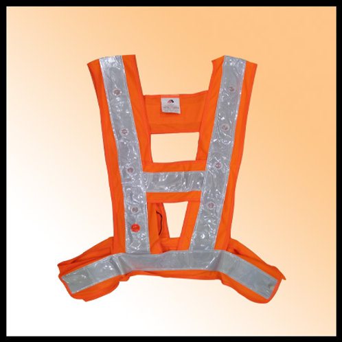 SAFETY VEST LED ORANGE AB SAFETY