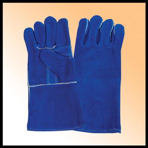 WELDING GLOVES BLUE