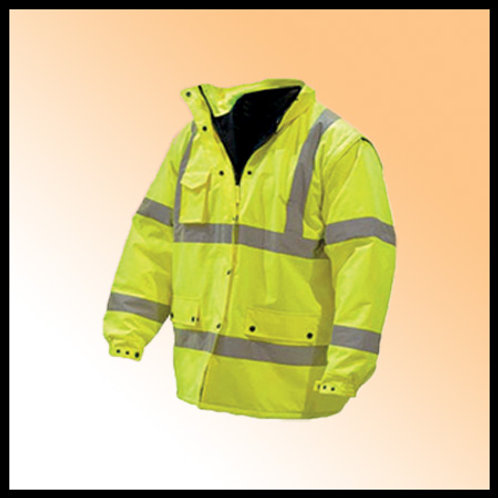 PARKA FLUORESCENT YELLOW PRIME CAPTIAN