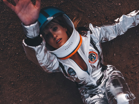 Astronaut Inspired Fashion Editorial in Los Angeles