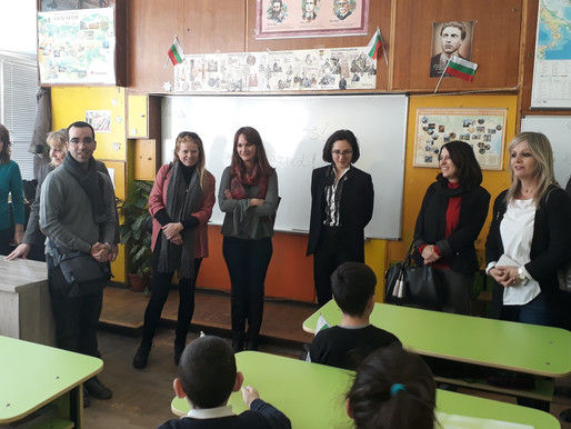 "Делегация от Хърватия посети 102 ОУ ""Панайот Волов"""