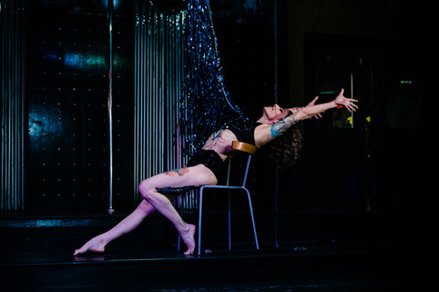 Salt City Burlesque 80s Night- Rain Loun