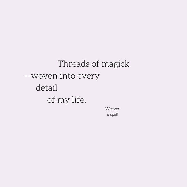 The inspo_ Making simple magick in a big
