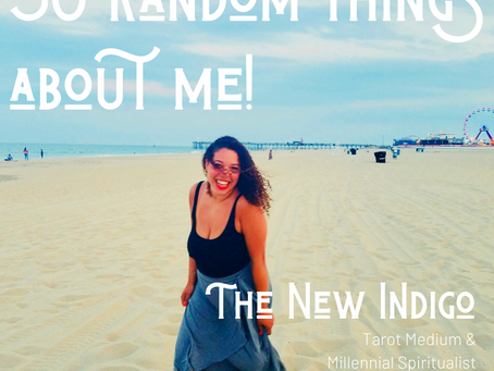 Who even am I? 50 random things about me!