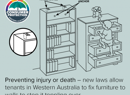 NEW LAWS PASSED- WA TENANTS NOW ALLOWED TO AFFIX FURNITURE WITHOUT LANDLORD CONSENT
