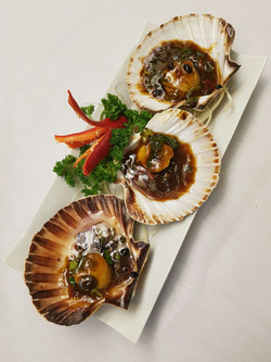 Scallops in Black Bean Sauce