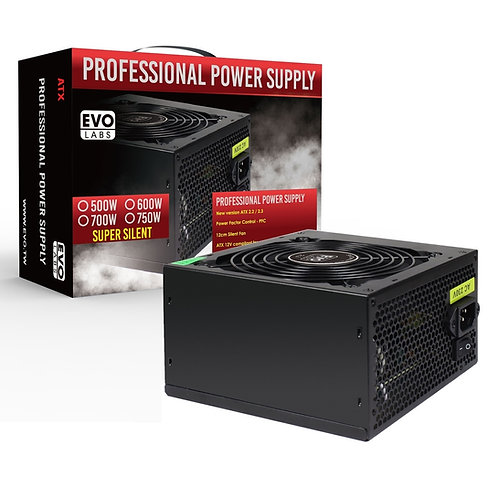 Evo Labs E-500BL 500W Power Supply