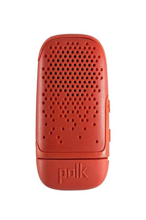 Polk BOOM Bit Clip-On Bluetooth Speaker - Red