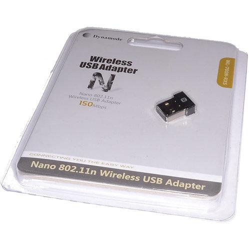 Dynamode WL-700N-RXS 802.11n Wireless N150 Nano USB Adapter