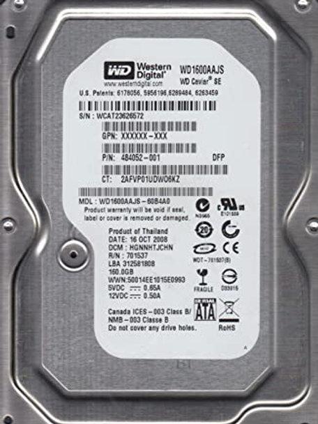 """160GB SATA 3.5"""" HDD (Various Models)"""