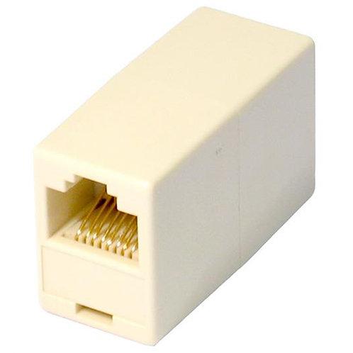 RJ45 (F) to RJ45 (F) White OEM Coupler Adapter