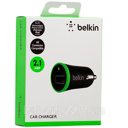 Belkin USB Car Adapters (2.1A) (10W)